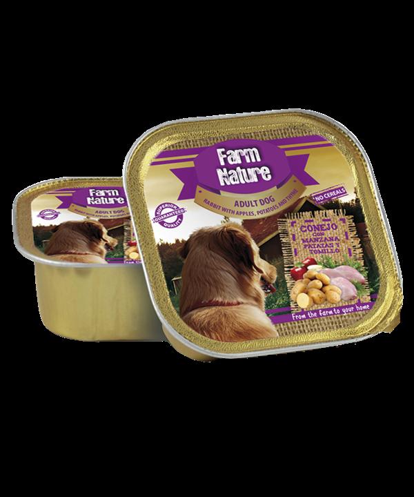 Conejo con Patatas, Manzana y Tomillo
