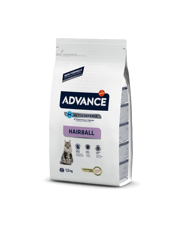 ADVANCE HAIRBALL TURKEY & RICE