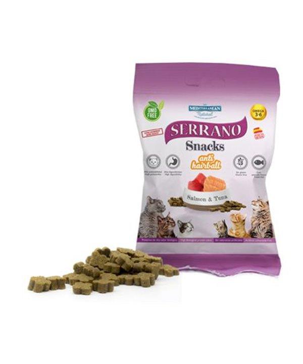 Serrano snack anti hairball samon & atun