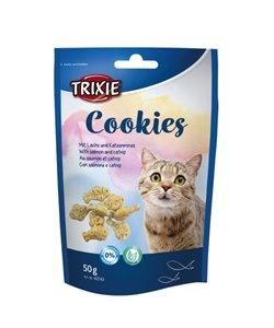 Cookies con salmón y catnip