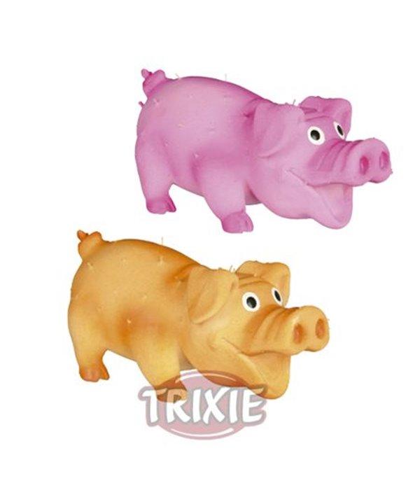 Cerdo con pelo latex