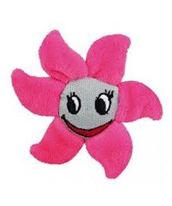 Peluche flor de tela