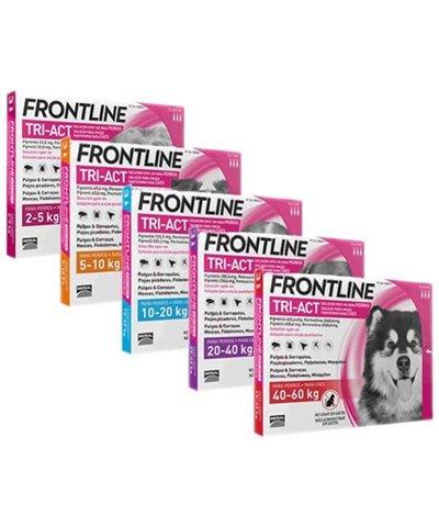 FRONTLINE TRI- ACT (Caja de 3)