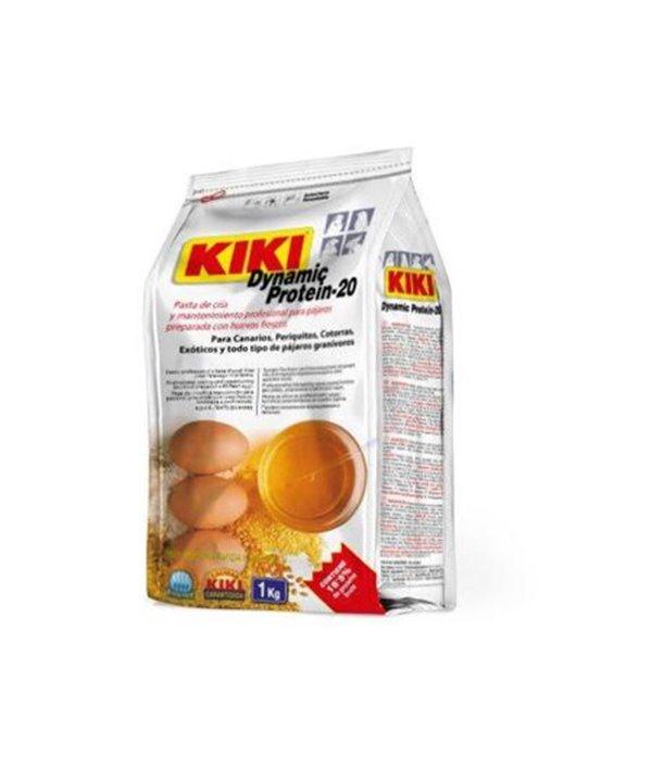 Kiki dynamic proteina-20 pasta de cría y mantenimiento