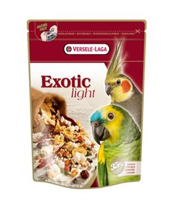 Snack loros/cotorras exotic light