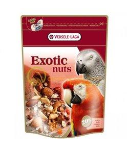 Snack con nueces para loros exotic