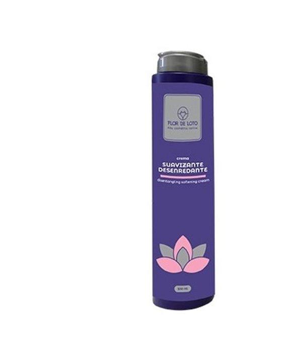 Crema suavizante/desenredante flor de loto