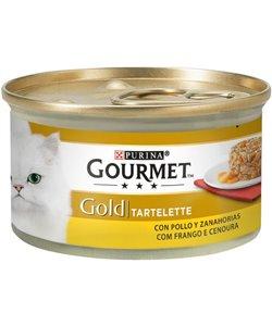 GOURMET GOLD CON POLLO Y ZANAHORIA 85 GR