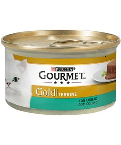 GOURMET GOLD CON CONEJO 85 GR