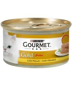 GOURMET GOLD FONDANT POLLO 85G