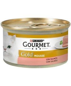 GOURMET GOLD MOUSSE SALMÓN 85 GR