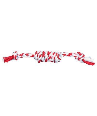Cuerda con Nudos, Mezcla de Algodón, 31 cm