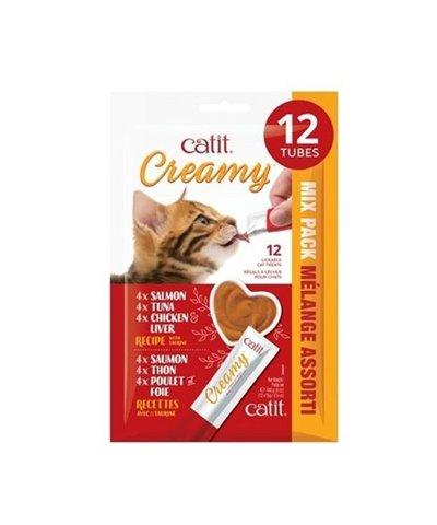 CATIT CREAMY MULTI PACK 12 UDS