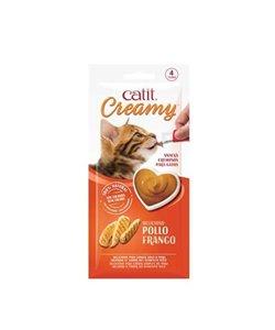 CATIT CREAMY SNACK CREMOSO 4 TUBOS