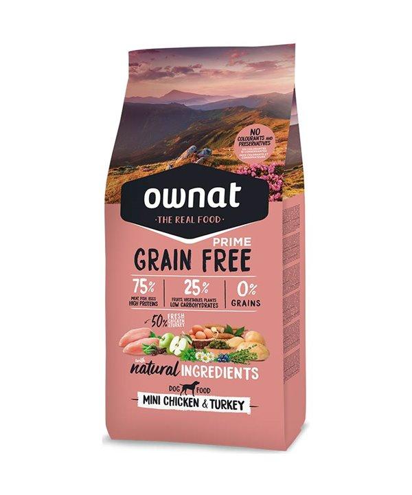 PRIME GRAIN FREE MINI CHICKEN & TURKEY